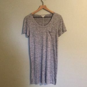 J Crew Soft and Comfy T-Shirt Dress size M